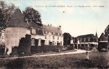 MAISON-MAUGIS 26 château façace ouest