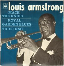 "LOUIS ARMSTRONG ""MACK THE KNIFE"" VOCAL JAZZ 60'S EP CBS 6217"