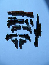Brickarms - Pack Policía/Police Pack - Armas para LEGO, Mega Bloks