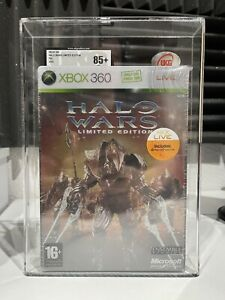 XBOX 360 HALO WARS LIMITED EDITION UKG/VGA Graded 85+NM 2009