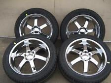 BOSS 330 SERIES WHEELS W/ NEW TIRES FITS ALL CHEVY GMC CADILLAC TRUCKS AND SUV'S