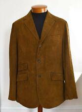 $995 Authentic POLO RALPH LAUREN Brown SUEDE Blazer Jacket XL