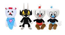 Cuphead Soft Plush Toy Cuphead & Mugman Mecup Brocup Chalice Figure Doll Gift