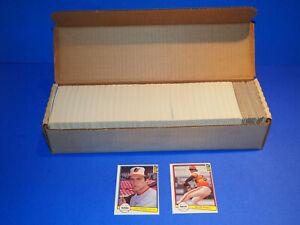 1982 Donruss Complete Set 1-660 NRMT/MT Vending Case Ripken Smith Rookies