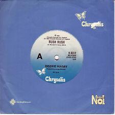 DEBBIE HARRY Rush Rush  45 - Blondie