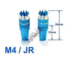 1Set M4  Light Blue JR XG6 XG8 XG11 XG14 / DX7 TX Gimbal Sticks TH016-03001C