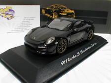 "Spark WAP0209050J - Porsche 911 (991) Turbo S Exclusive "" schwarz "" 1:43 NEU"