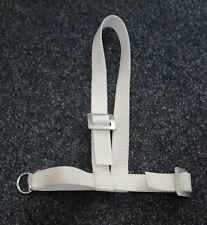 Schafhalfter Ziegenhalfter Nyon in weiß mit Ring zum Verstellen NEU