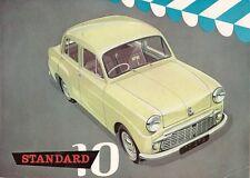 Standard Ten 10 Saloon 1958-59 UK Market Sales Brochure