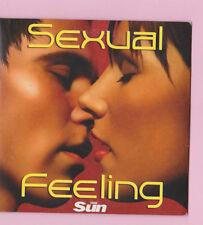 SEXUAL FEELING - SUN PROMO CD AL GREEN MISTEEQ CRAIG DAVID DESTINY`S CHILD TEDDY