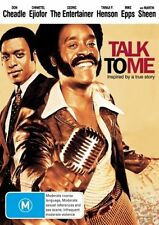 TALK TO ME DVD R4 Don Cheadle / Cedric The Entertainer