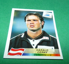 N°150 HARALD CERNY ÖSTERREICH PANINI FOOTBALL FRANCE 98 1998 COUPE MONDE WM