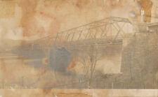 Frenchtown NJ * Bridge RPPC ca. 1906 * Hunterdon Co.