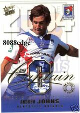 2004 SELECT NRL CAPTAIN-NEWCASTLE KNIGHTS: ANDREW JOHNS
