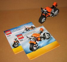 7291 LEGO Street Rebel – 100% Complete w Instructions EX COND 2012