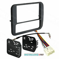 95-3312G CAR STEREO DOUBLE/2/D-DIN RADIO INSTALL DASH KIT W/ WIRES