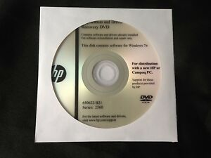HP 2560 Driver Application CD DVD Disc