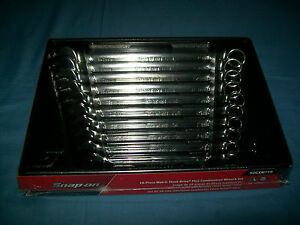 NEW Snap-on™ 10 thru 19 mm 12-point box FLANK drive PLUS Wrench Set SOEXM710