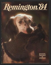Remington Sporting Firearms and Ammunition Catalog - 1984 - Hole Punch
