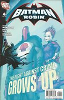 Batman And Robin Comic Issue 4 Modern Age First Print 2009 Morrison Tan Glapion