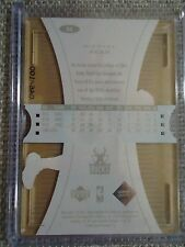 2003-04 UD Glass Plexi-Glass Acetate Crystal Collection #32 Michael Redd Card