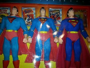 The History of the  Superman collection Action figures