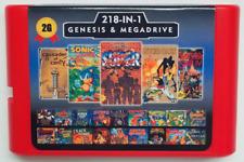 Super 218 in 1 Sega Genesis & Mega Drive Multi Cart 16-Bit Game Cartridge