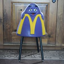 Vintage 1970's McDonald's Restaurant Grimace Chair