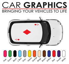 Mini cooper car graphics cards ace decals stickers vinyl design mn31