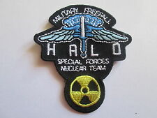 Halo Special Forces Nuclear Team - Embroidered Iron or Sew On Patch- P090