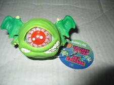 Green Eye Monster Ball w/ Wings Figure Cyclops Toy Toysmith Eye Pops In and Out