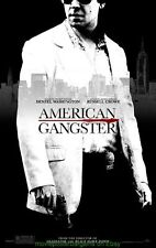 American Gangster Movie Poster 27x40 Russell Crowe Advance+ Gladiator 11x17 Mini