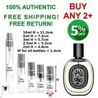 Tam Dao Diptyque EDP unisex perfume sample travel size 2~2.5~3~5~10ml