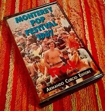 MONTEREY Pop Festival 1967 Dizionario Rock MC A. CURCIO Edit. 1991