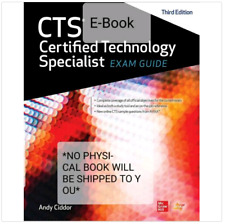 CTS Certified Technology Specialist Exam Guide 3rd Edition P*D*F