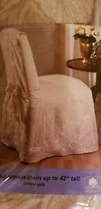 Formal DINING ROOM CHAIR COVER Champagne - New in Package Sure Fit up to 42""