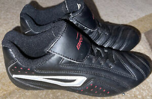 Soccer Cleats shoes Brine Black Youth Kids Size 4.5 outdoor