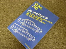 1989 1990 1991 Volvo 240 DL GL SE Turbo Sedan Wagon Shop Service Repair Manual