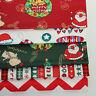 Weihnachten Baum Elk Köper Baumwolle Stoff Patchwork Kleidung Tischset Supples