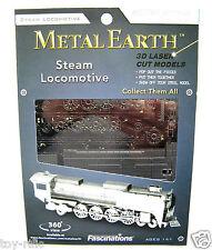 METAL EARTH STEAM LOCOMOTIVE 3D METAL MODEL KIT - BRAND NEW & SEALED!!