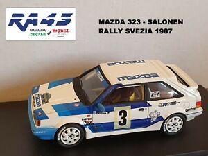 1/43 Mazda 323 Turbo Rally Svezia 1987 Salonen Racing43 Kit