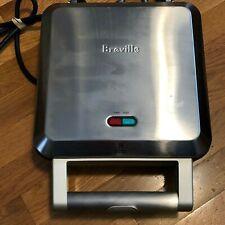 Breville Personal Nonstick Mini Pie Maker Model BPI640XL Stainless Steel Clean