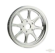 MERIDIAN Chrome 65 Tooth 1 1/2 Inch Rear Belt Drive Pulley  Revtech Harley 84-99