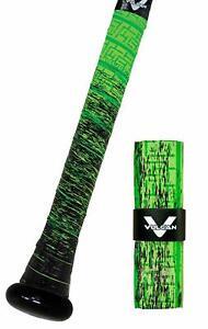 VULCAN ADVANCED POLYMER BAT GRIPS - LIGHT 1.00 MM - GREEN SLIME