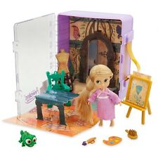 Disney Rapunzel Mini Micro Animators Doll 6 Piece Toy Playset