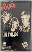 The Police Outlandos D'Amour 1979 A&M BASF Dolby Chrome Cassette Roxanne Sting