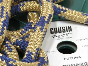16mm Braided Rope | Cousin Trestec | Futuna | Mooring Line | Rope By The Meter