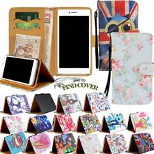 For Apple iPhone 3/4/5/6/7/8 X XR XS -Flip Leather Wallet Stand Cover Phone Case