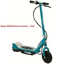 Razor E200 Electric Scooter - Teal ( NEW )