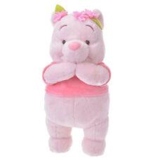 Japan Disney Winnie the Pooh Pooh Bear Pink Lovely Plush Doll Toy 20cm
